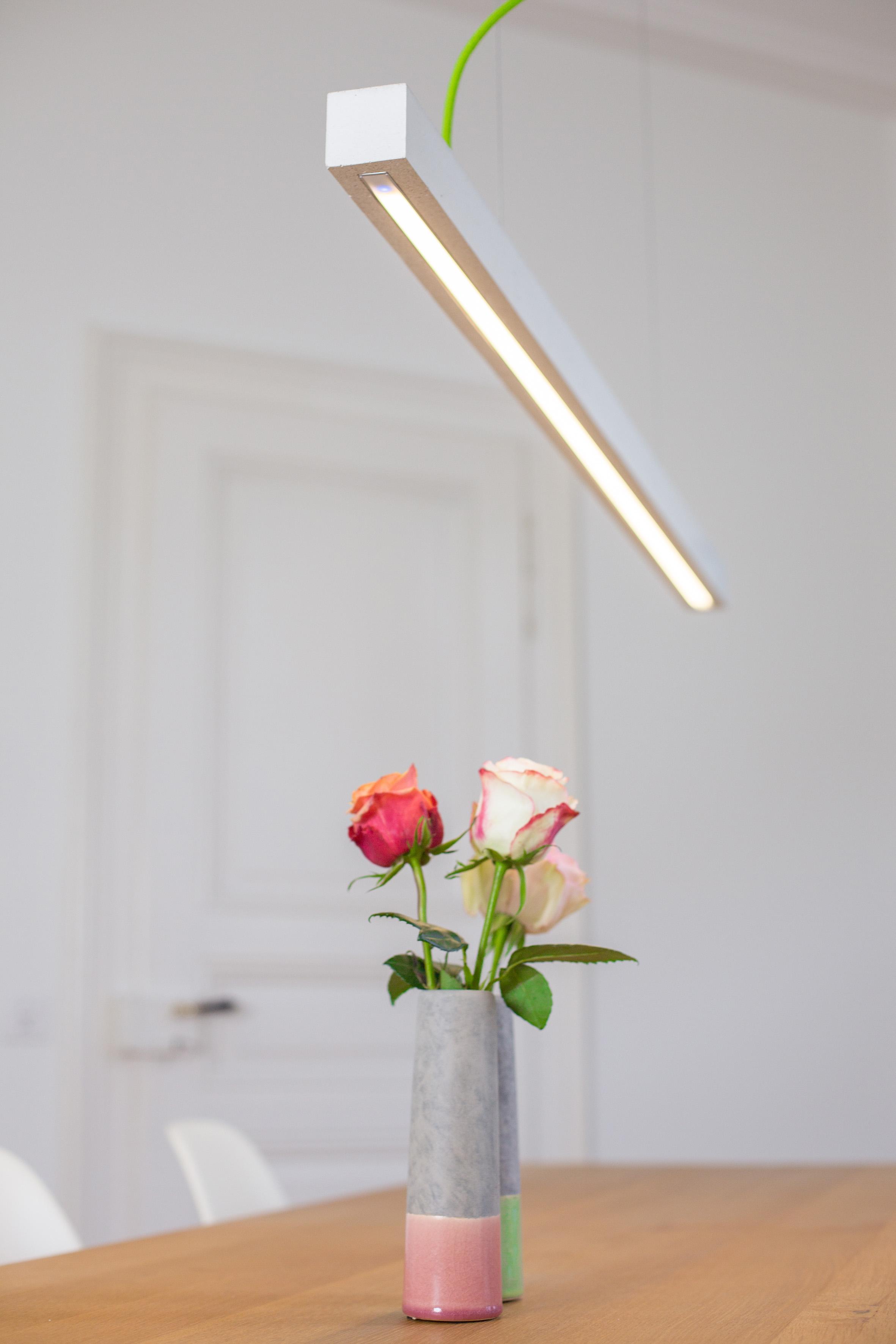 Design Leuchte Beton FLOLA